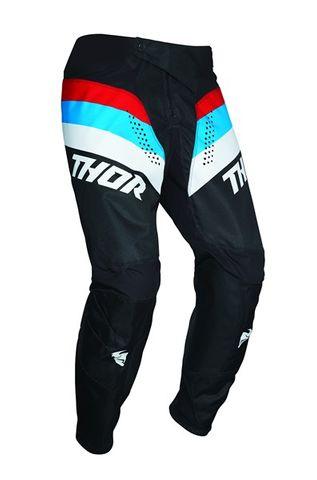 THOR MX PALSE RACER BLACK RED BLUE PANT