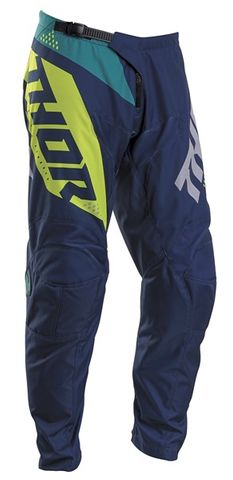 THOR YOUTH SECTOR BLADE NAVY ACID PANT