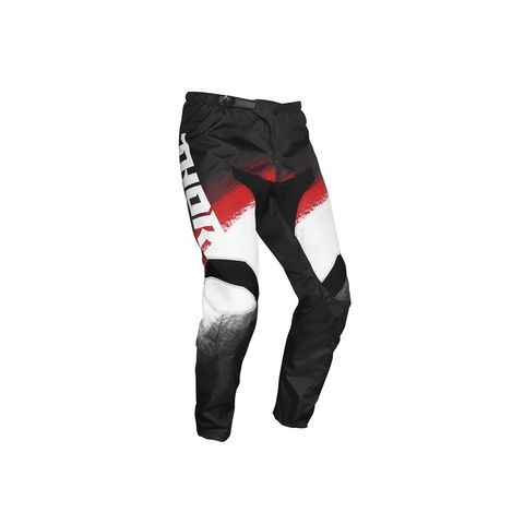 THOR MX YOUTH SECTOR VAPOR BLK RED PANT
