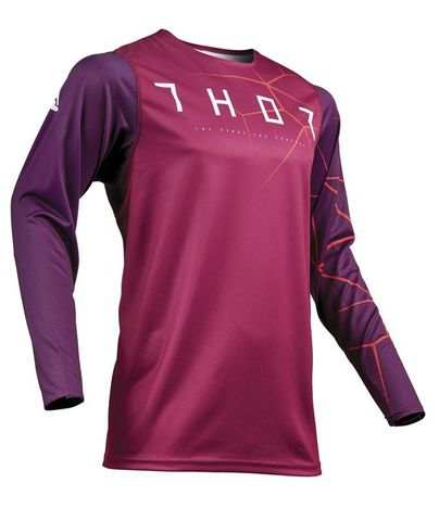 THOR PRIME PRO INFECTION RED ORANGE JERSEY