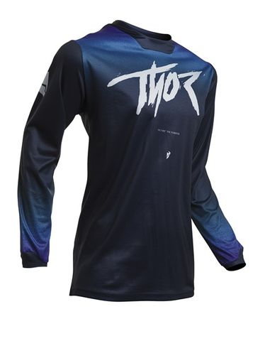 JERSEY THOR PULSE S20 FADER WOMENS MIDNIGHT  XSMALL