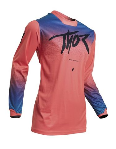 JERSEY THOR PULSE S20 FADER WOMENS CORAL  XLARGE