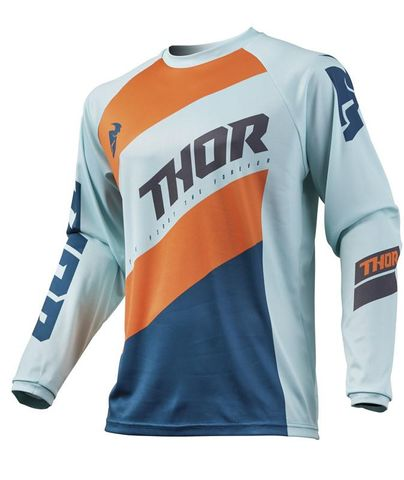 THOR YOUTH PULSE STUNNER SLATE JERSEY