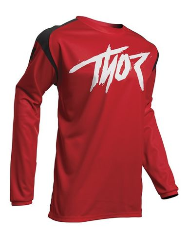 THOR MX SECTOR LINK YOUTH RED JERSEY