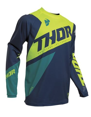 JERSEY THOR S20 SECTOR BLADE YOUTH NAVY ACID XSMALL