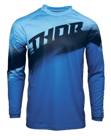 THOR MX SECTOR VAPOR BLUE YOUTH JERSEY