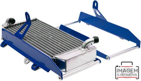 RADIATOR BRACE CROSSPRO. BLUE. YAMAHA YZ250F 14-18, YZ450F 14-17, YZ250FX YZ450FX 14-18.