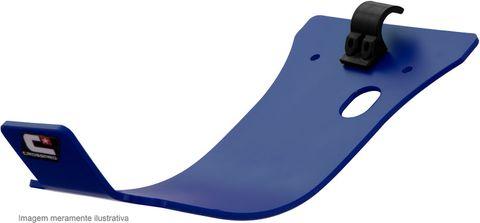*GLIDE PLATE CROSSPRO DTC PLASTIC KX450F 12-15 BLUE