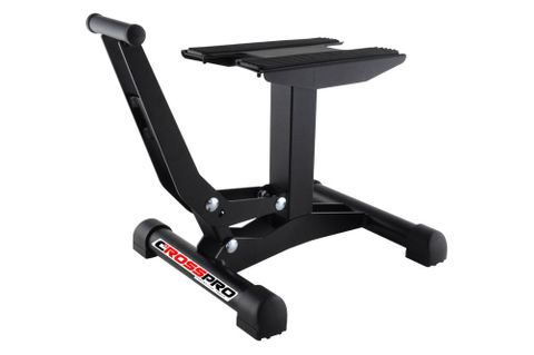 LIFT STAND CROSSPRO XTREME MADE IN EUROPE TEXTURED WITH DTC TOP MADE OF STEEL ANTI-SLIP TOPS BLACK