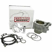 CYLINDER WORKS CYLINDER KIT INCLUDES CYLINDER , TOP GASKET SET & VERTEX PISTON KIT KX250F 06-08