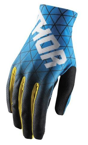 GLOVE THOR S18 VOID VAWN BLUE YELLOW LARGE