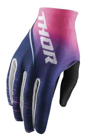 GLOVE THOR S18 WOMENS VOID NAVY PINK LARGE.