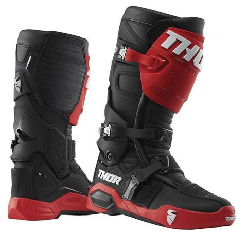 THOR MX RADIAL RED BLACK BOOT