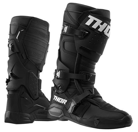 THOR BOOT OUTER SOLES RADIAL BLACK/GREY SIZE 9
