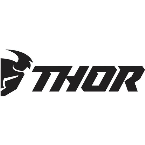 GIANT THOR MX 36X14 BLACK & WHITE DECAL IS GREAT FOR USE ON ANYTHING FROM BOX VANS TO FACTORY SEMIS