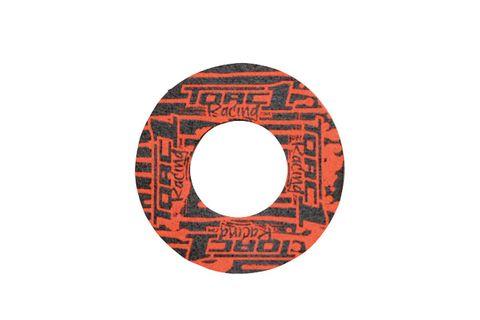 HANDLEBAR GRIP DONUT TORC1 RACING SOLD IN PAIRS  ORANGE