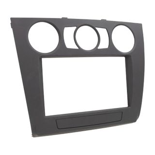 FITTING KIT BMW 1 SERIES 07-13 MANUAL AIR CON DOUBLE DIN