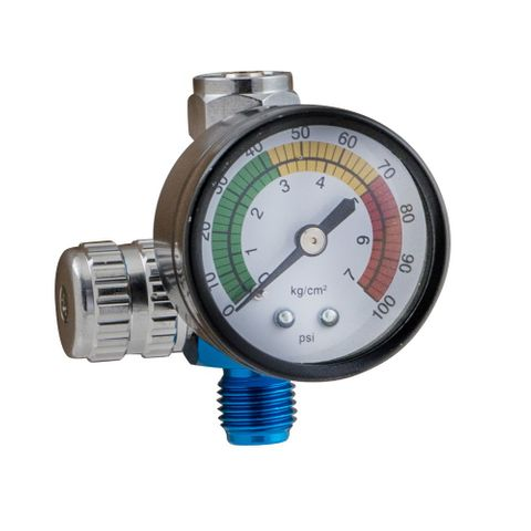 IWATA 2SPRAY SPRAYGUN REGULATOR WITH GAUGE