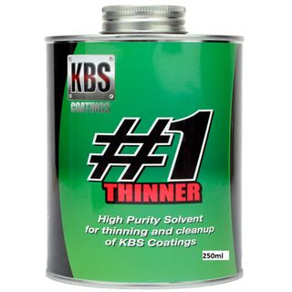KBS #1 THINNER HIGH PURITY SOLVENT 250ML