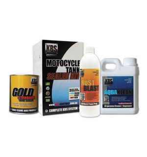 KBS FUEL TANK SEALER KIT REGULAR MOTORCYCLE UP TO 20L TANK