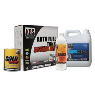 KBS FUEL TANK SEALER KIT CAR UTE VAN UP TO 100L TANK