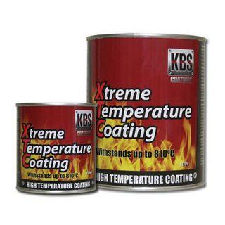 KBS XTC XTREME TEMP COATING SATIN BLACK 1 LITRE