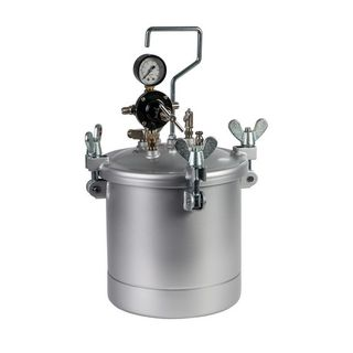 IWATA 2SPRAY PRESSURE POT 10L POT + GAUGES