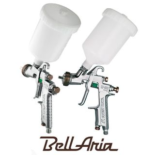 IWATA GRAVITY SPRAYGUN W400 BELL ARIA 1.3MM + 600ML POT