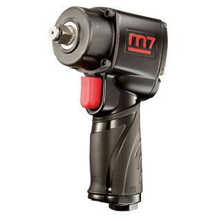 "M7 AIR IMPACT WRENCH 1/2"" DRIVE JUMBO HAMMER QUIET 400FT"
