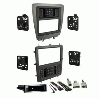 FITTING KIT FORD MUSTANG 2010 - 2014 DIN & DOUBLE DIN