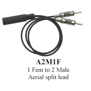 EDS 2 FEMALE TO 1 MALE AERIAL ADAPTER