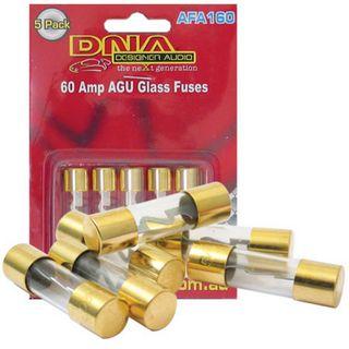 AGU FUSES 60 AMP GOLD FUSE (5 PACK)