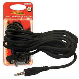 3.5MM TO RIGHT ANGLE 3.5MM STEREO AUX LEAD 3.0M