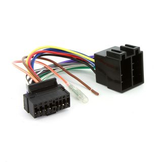 CAR STEREO CLARION 16 PIN TO ISO HARNESS