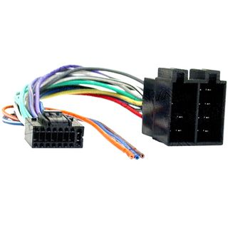 CAR STEREO JVC 16 PIN TO ISO