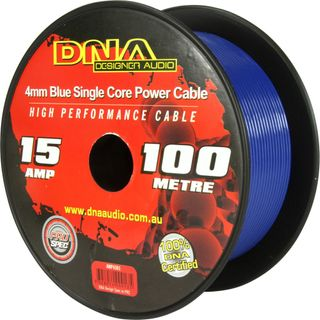 DNA CABLE 15 GAUGE SINGLE CORE CABLE BLUE 100MTR