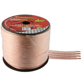 DNA CABLE 16 GAUGE TRANSLUCENT 4 CORE FLAT SPEAKER CABLE 100MTR
