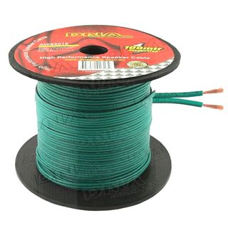 DNA CABLE 16 GAUGE SPEAKER CABLE GREEN 100MTR