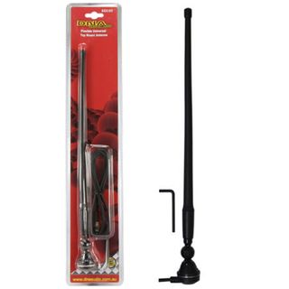 AERIAL UNIVERSAL 360MM AM/FM BLACK FLEXIABLE WHIP