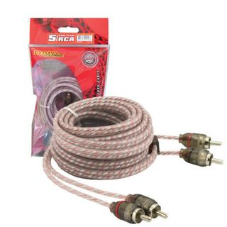 DNA PRO SPEC RCA CABLE 5.0MTR RED 2 TO 2 RCA
