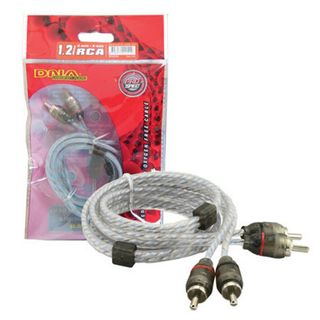 DNA PRO SPEC RCA CABLE 1.2MTR BLUE 2 TO 2 RCA