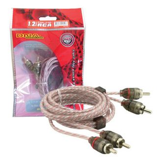 DNA PRO SPEC RCA CABLE 1.2MTR RED 2 TO 2 RCA