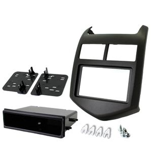 FITTING KIT HOLDEN BARINA 2011 ON DIN/DOUBLE DIN (WITH POCKET)