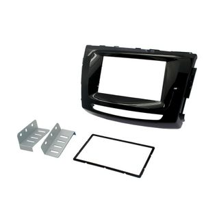 FITTING KIT GREAT WALL V249 2006 -2015 DOUBLE DIN (GLOSS BLACK)