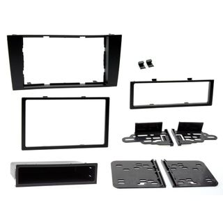 FITTING KIT AUDI A4 1999 - 2001 DIN/DOUBLE DIN (SYMPHONY SYSTEM)(WITH POCKET)