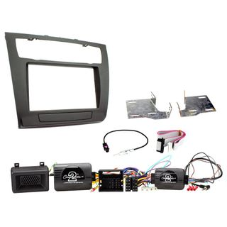 FITTING KIT BMW 1 SERIES 2007 - 2013 DOUBLE DIN COMPLETE KIT