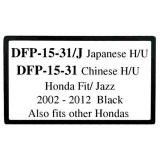 *FITTING KIT HONDA FIT JAZZ 2008-2014 DOUBLE DINCHINESE INNER TRIM 177 X 99.6MM)