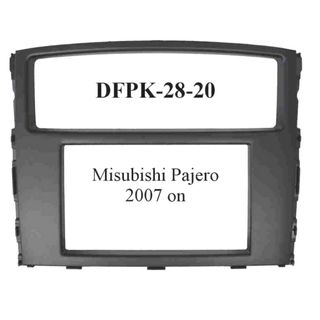 FITTING KIT MITSUBISHI PAJERO 2007 ON DOUBLE DIN
