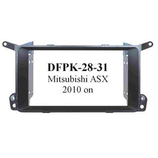 FITTING KIT MITSUBISHI ASX 2010 - 2013 DOUBLE DIN