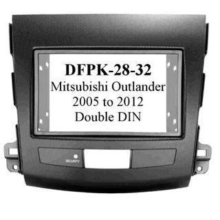 *FITTING KIT MITSUBISHI OUTLANDER 2005 - 2012 DOUBLE DIN